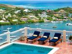 SPECIAL OFFER: St. Martin Villa 206 Overlooking Captivating Oyster Pond And Dawn Beach, With Beautiful Sunrises.