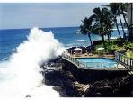 POIPU SHORES ..ON THE WATER!!! HEATED POOL..A/C!!