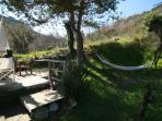 Possibly the best terrace in the world! Sun all day, plenty of sittingand dining space and when you