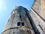 Najac's Chateau Fortress Royale is an amazing 12th century masterpiece of strategic defence