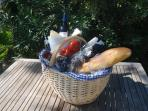 Your welcoming picnic on arrival
