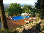 Lovely Tuscan village cottage with outdoor pool, terrace and solarium