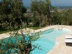 Stylish Tuscan country villa with private pool and garden, sleeps up to 8
