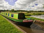 Narrowboat Holiday - Olivia G