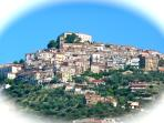 The charming village of Castellabate