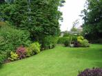 Secluded, south facing tranquil garden ideal for sunbathing and just chilling out.