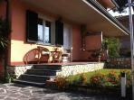 Villa Diva in Cinquale, well cared for.