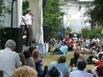 Blues Festival at Cognac, early July