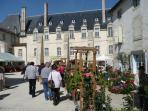 Flower Fair in St Jean d'Angely