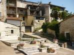 Le Lavoir at Aubeterre - officially one of the prettiest villages in France