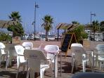 Why not take a drink and tapas at one of the many delightful Marina café/bars