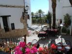 Restaurant in old town Moraira/harbour area