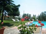 Tuscany Family apartment with shared pool freewifi