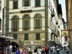 Homey one bedroom apartment close to Florence's Ponte Vecchio