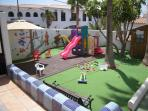 Safe secure Children's Play area