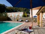 Outdoor heated pool - open 1st March - 31st Sept