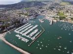 Brixham from the air