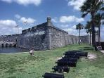 Explore the old fort built in 1740