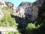 Foothills of the Alps - an easy drive from La Mole