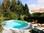 Impressive house & private pool. Dogs welcome