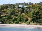 Two Bays - just above Cabier beach - Beachside studio on the right hand side