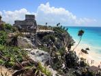 Tulum Beach & Ruins Nearby 10 minutes by Bicycle