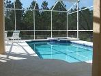 POOL AND SPA WITH 6 LOUNGERS
