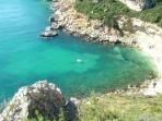 Smugglers Bay - Hidden Beach Cove just above El Portet - reached by Boat