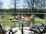 One of the pool side dining areas with wonderful views