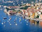 Stunning view of Villefranche sur Mer