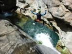 Canyoning on The Loup