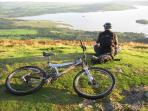An evening on nearby Conic Hill