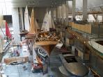 Interior of the National Maritime Museum - allow half a day for your visit!