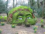 The Lost Gardens of Heligan are just 45 minutes by car
