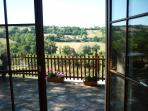 View from lounge of the serene valley