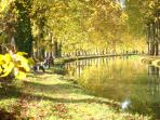 Nearby Canal with a great cycle path