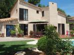 Charming villa with private pool on secured domain