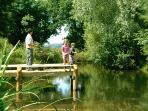 One of the Fishing Platforms