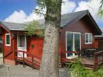 Heron Lodge on the edge of Mabie Forest, Dumfries
