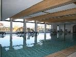 View of pool private to Domaine des Reinnes