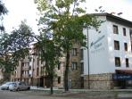 Front of Building in Summer, on Pirin Street (walk to Snow Road)