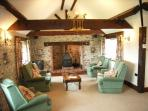 Stables Lounge Log Fire