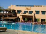 Friends restaurant  and the Largest Swimming ool