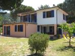 Ground floor apartment near the beach on Elba Island with private terrace and garden, great place for a family holiday