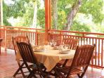 Enjoy your breakfast at the terrace