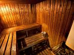 Golf Club Sauna  -  Residents may use