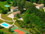A partial view of the domaine