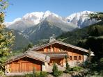 Chalet Coup de Coeur in Summer with Luxury accommodation. 4 Star Rating with French Tourist Office.