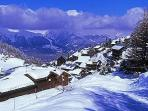 La Plagne ski resort,
