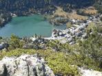 Champex Lac viewed from the Belvedere - one of the local walks